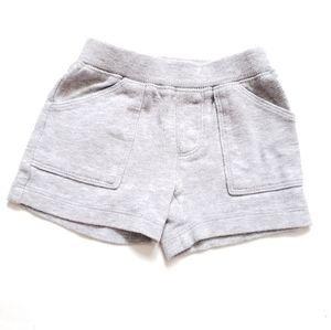 6M Jersey shorts gray CARTER'S